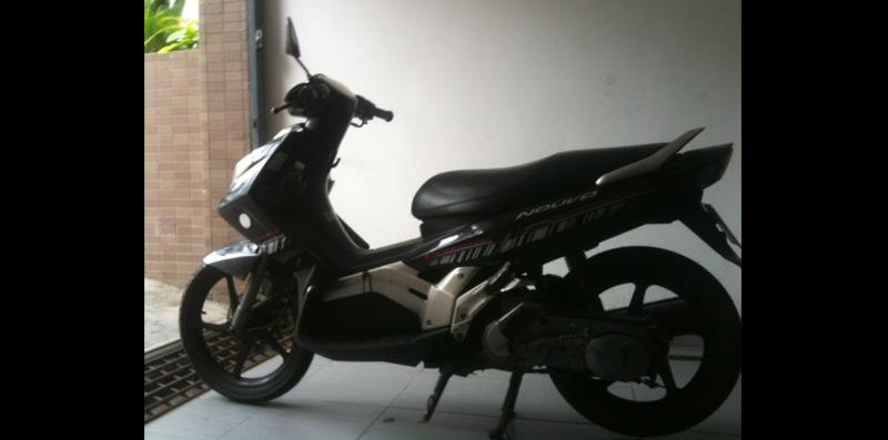 MOTOR BIKE: Yamaha Nouvo